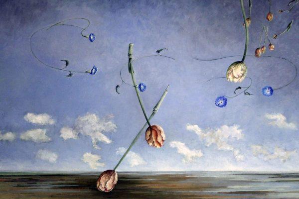 Vallende tulpen